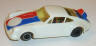 Cox Superscale Porsche Carrera, white with red and blue