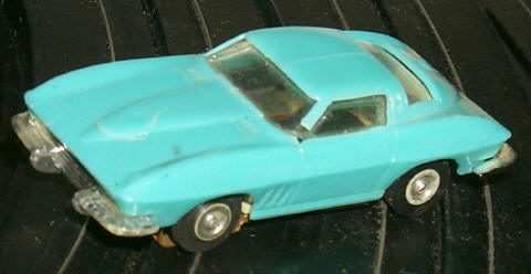 Eldon HO '64 Corvette, broken post