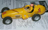 Strombecker 1/24 scale dirt track racer slot car from the 60's.
