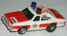 AFX Sheriff Chevy Police car, white with red.