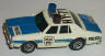AFX Chevy Police car, white/blue