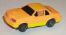 Lifelike Thunderbird in light orange with yellow thunderbolt