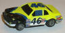 Lifelike Thunderbird in yellow with black and blue #46